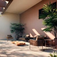 Palazzo Vila Mariana - Área de lazer: Lounge externo