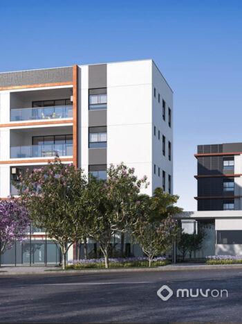 Casa Mariana - Perspectiva fachada