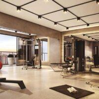 Loomi Paulista - Área de lazer: Perspectiva fitness
