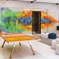 Loomi Paulista - Área de lazer: Perspectiva salão de jogos