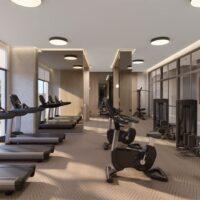 Moema By Cyrela - Área de lazer: Perspectiva fitness