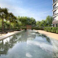Moema By Cyrela - Área de lazer: Perspectiva piscina
