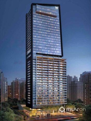 W Residences São Paulo – Hotel - Perspectiva fachada