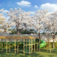 One Park Perdizes - Área de lazer: Perspectiva playground