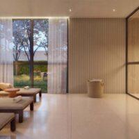 One Park Perdizes - Área de lazer: Perspectiva sauna