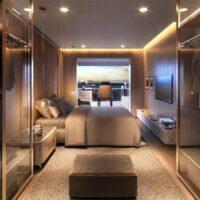 One Park Perdizes - Perspectiva suite principal planta 173m²