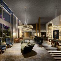 Cyrela Iconyc The Residences - Área de lazer: Perspectiva salão de jogos