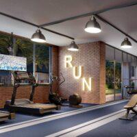 Cyrela Iconyc The Residences - Área de lazer: Perspectiva fitness