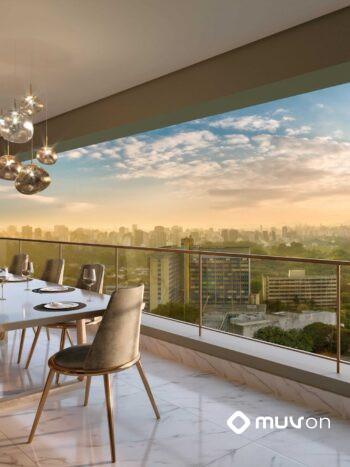 Cyrela Iconyc The Residences - Perspectiva terraço duplex
