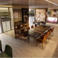 Cyrela Atmosfera Vila Mariana - Área de lazer: Perspectiva lounge festas