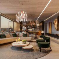 Cyrela Atmosfera Vila Mariana - Área de lazer: Perspectiva lounge gourmet