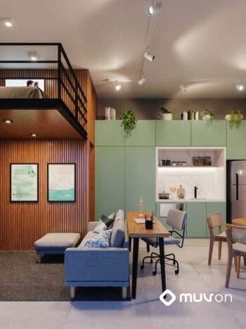 Bauhaus Pinheiros by You - Perspectiva 33m² - 1 Dormitório