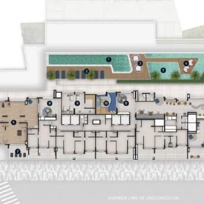 Nau Vila Mariana Cyrela Implantacao Lazer 2 Pavimento