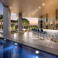 Villa Milano Lifestyle by Versace Home - Residences - Bar Piscina