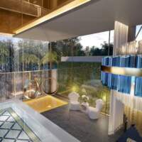Villa Milano Lifestyle by Versace Home - Residences - Detalhe Piscina Coberta