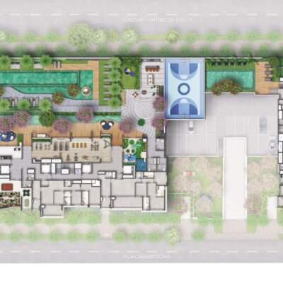 Cyrela Bothanic Residences Campo Belo - Implantação Lazer