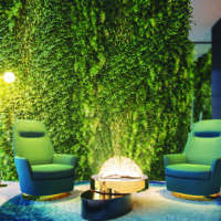 Cyrela Bothanic Residences Campo Belo - Lobby detalhe