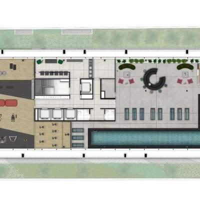 Cyrela For You Moema - Implantação Lazer Rooftop