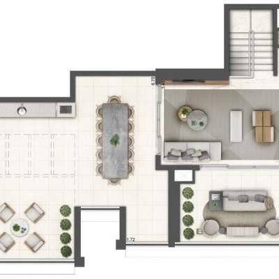 Lavvi Wonder Ipiranga Residences - Planta 280m² Duplex Superior