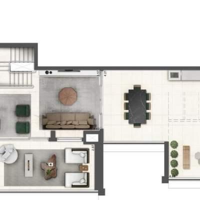 Lavvi Wonder Ipiranga Residences - Planta 313m² Duplex Superior