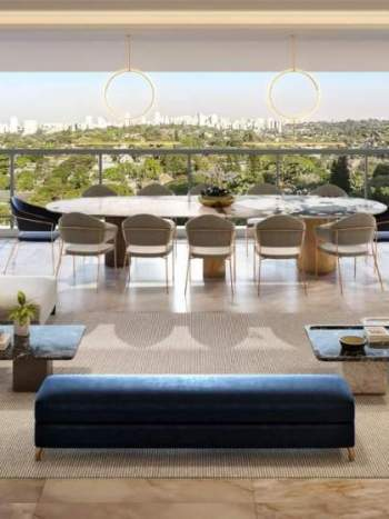 Legacy Campo Belo - Perspectiva Living 165m²