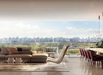 Oscar Ibirapuera - Perspectiva Living 236m², 3 Suites