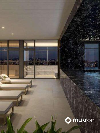 Grand Vitrali - Spa com sauna seca e úmida e piscina coberta e aquecida no rooftop